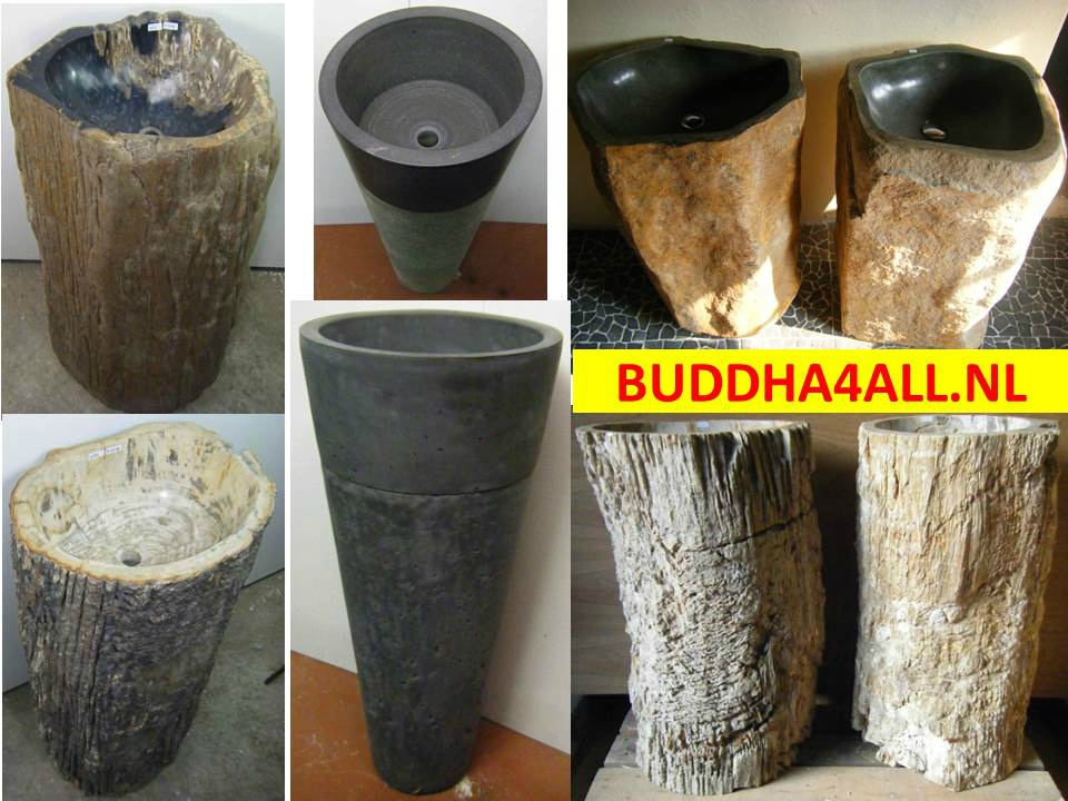 Waskom op zuil  Buddha4allnl # Wasbak Zuil_225111