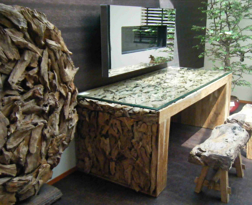Eetkamertafel Graniet: Nl funvit kookeiland ruimte tussen.