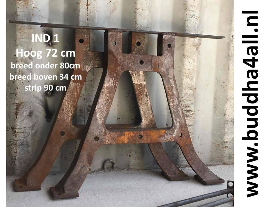 Industriele Tafel Poten : Tweedehands tafels salontafels bijzettafels van glas en hout