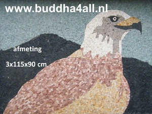 Mozaiek painting vogeljpg